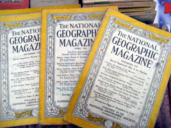 National Geographic, 1957 y 1956