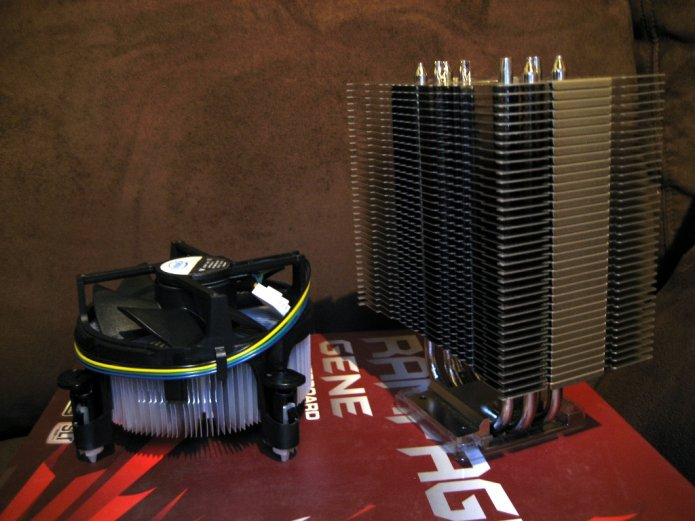 CPU Cooler: Intel vrs Noctua