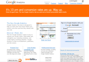 Estilo Original de Google Analytics