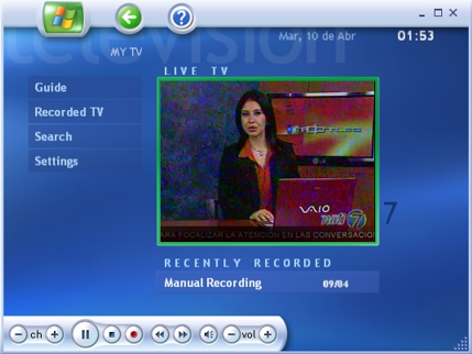 descargar sintonizador de tv para windows media center windows 7